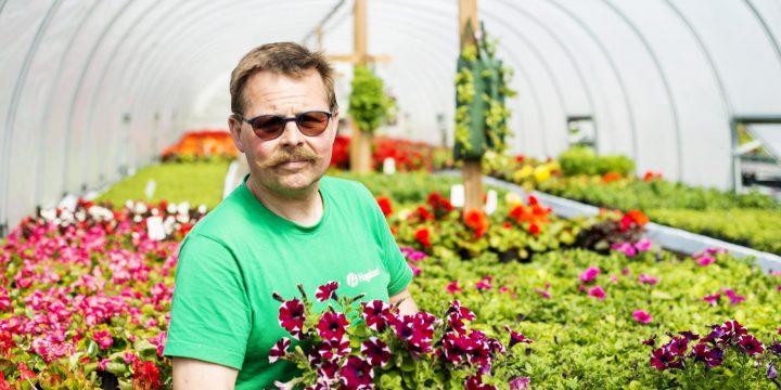 Lokal vekst – gartnaren sin bruk av «resirkulert» jord