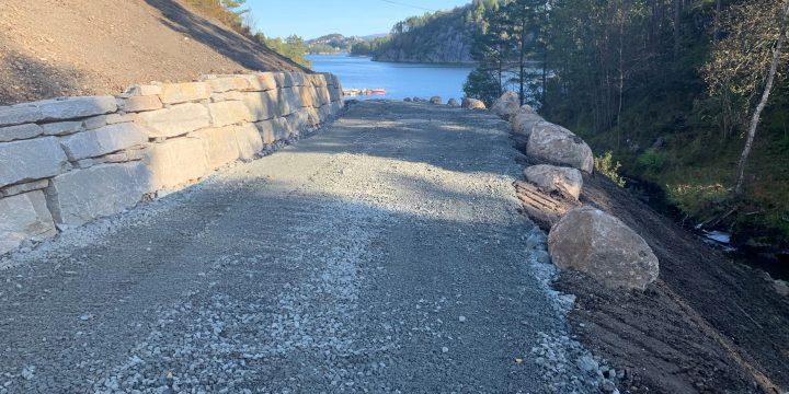 Nye vann og avløpsledningar frå Stokkabekkvegen til Ekornvika